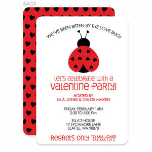 Love Bug Valentine's Day Invitation