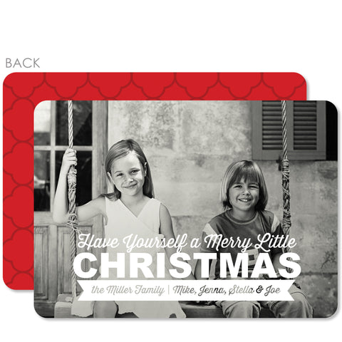 Merry Little Holiday Photo Card