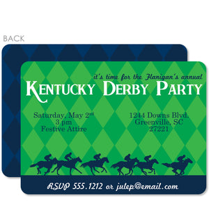 Diamond Kentucky Derby Invitations