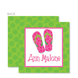 Flip Flops Gift Tags