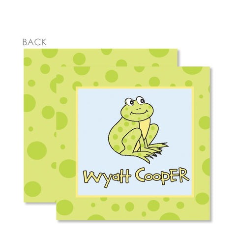 Frog Gift Tags