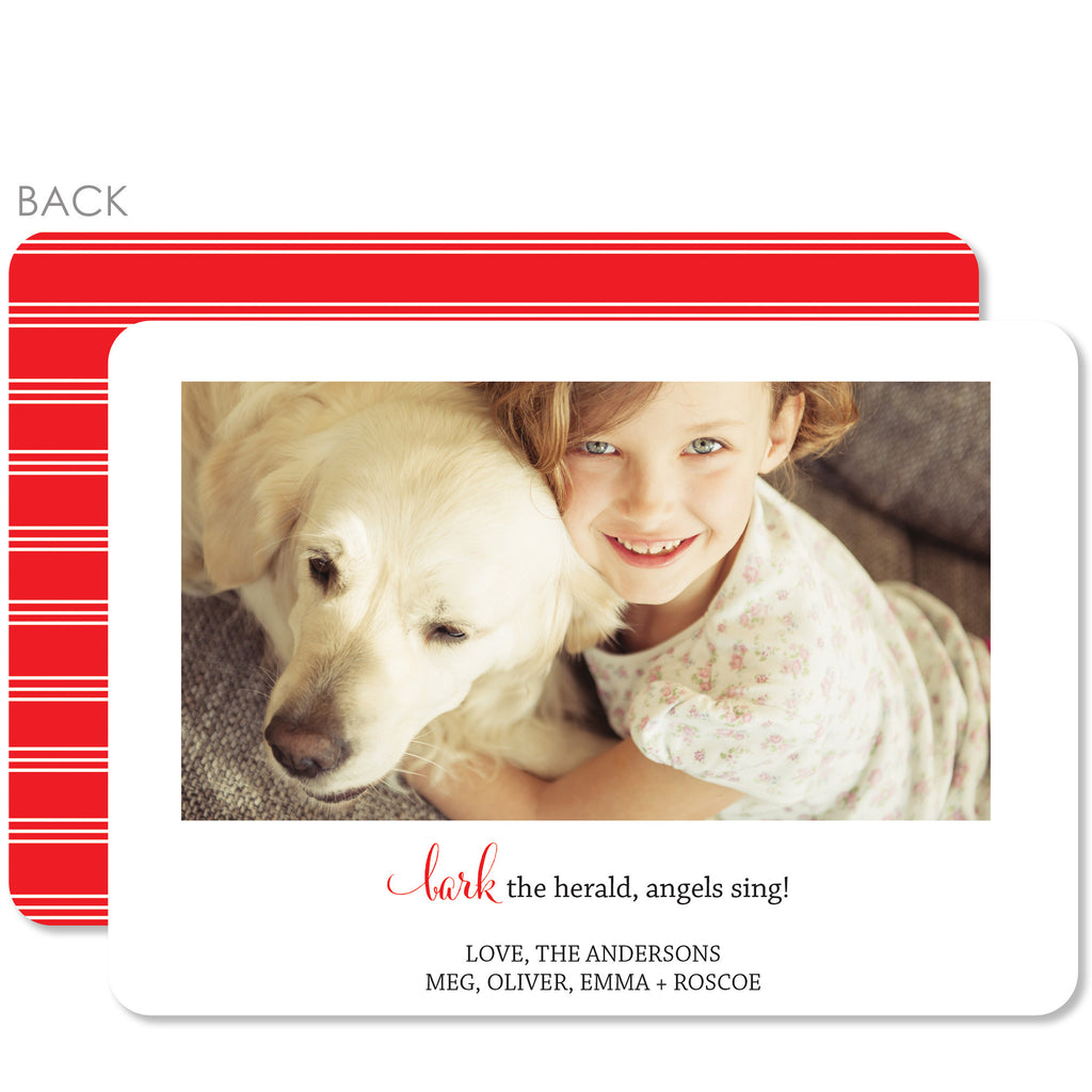 Bark Holiday Photo Card