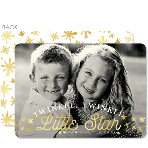 Sparkle Holiday Photo Card