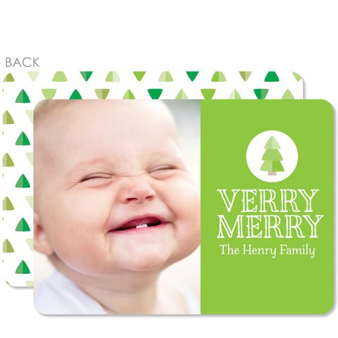 Tiny Trees Holiday Photo Card