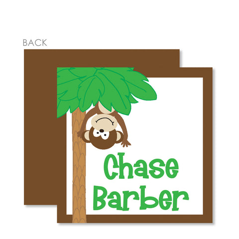 Monkey Gift Tags