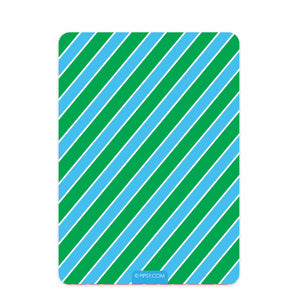 Confetti Birthday Invitation, Blue & Green (Printed)