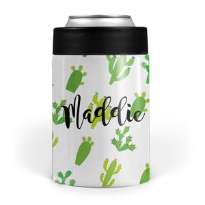 cactus double walled stainless steel can cooler sleeve, pipsy.com