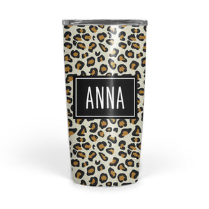 Trendy cheetah animal print to go cup | Pipsy.com