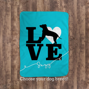 Pitbull Dog lovers throw blanket | Pipsy.com