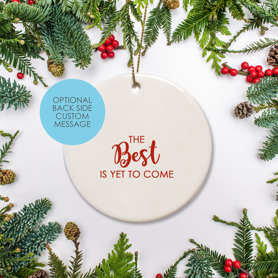Engaged Christmas Ornament | Keepsake New Couple | Pipsy.com
