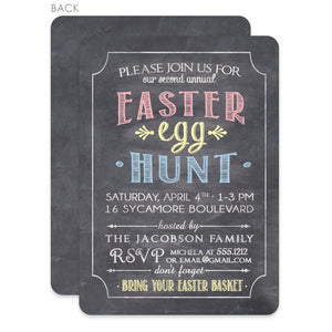 Easter Egg Hunt Invitation, PIPSY.COM