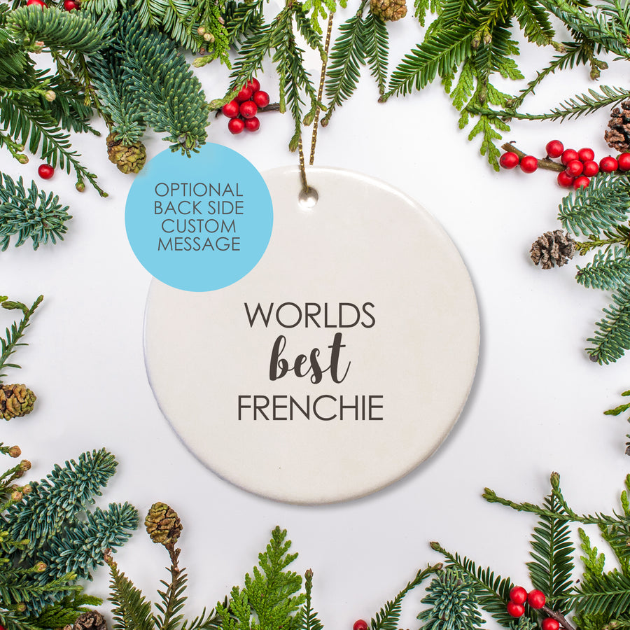 French Bulldog Christmas Ornament | Pipsy.com