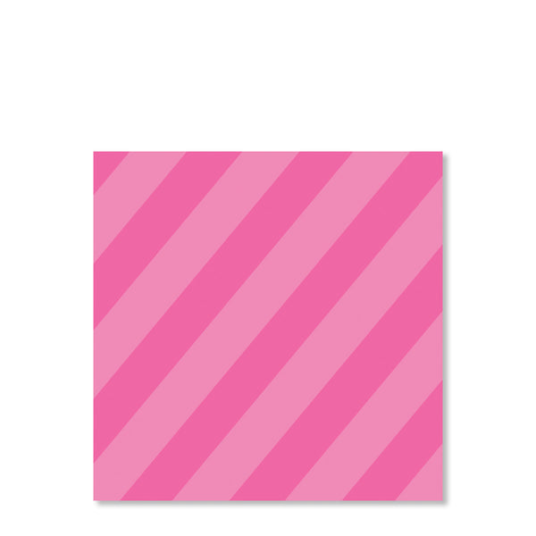 Pink Candy Party Cardstock Favor Tags | Swanky Press | Back