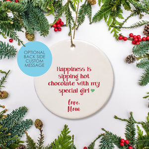 Custom Ornament | Ceramic | Round Ornament