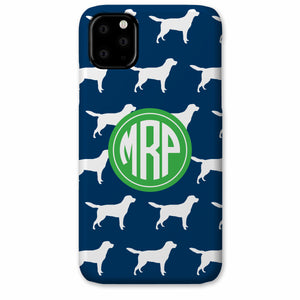 Labrador iPhone Case, dog breed with monogram, Pipsy.com