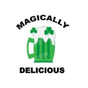 St. Patrick's Day Tea Towel, Magically Delicious