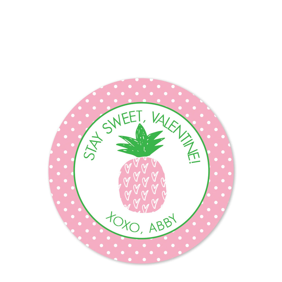 Pretty Pink Pineapple | Sweet Valentine | PIPSY.COM
