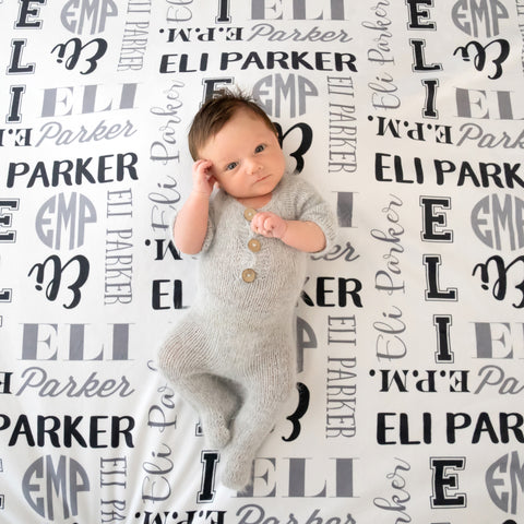 Personalized Name Blankets Pipsy