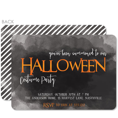 Summons Halloween Invitation | Pipsy.com