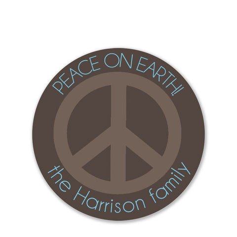 Peace On Earth Gift Stickers