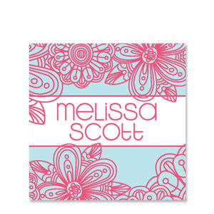 Blossom Name Stickers