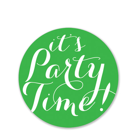 It's Party Time Stickers