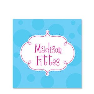 Whimsy Name Stickers