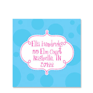 Whimsy Return Address Stickers