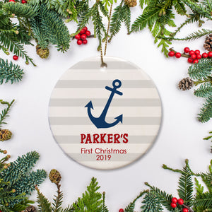 Nautical Keepsake Gift | New Baby | First Christmas | Pipsy.com