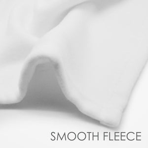 smooth fleece | snuggly  | soft