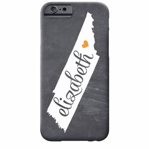 Tennessee Chalkboard iPhone Case