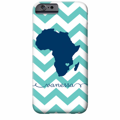 Africa Love Personalized iPhone Case | Adoption Gift | Swanky Press