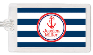 Anchor Luggage Tag | Swanky Press