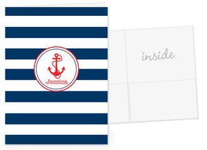 Anchor Personalized Pocket Folder
