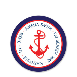 Anchor Return Address Stickers