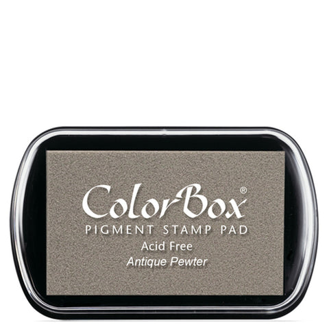 Color Box Pigment Ink Pad (Antique Pewter) | Swanky Press