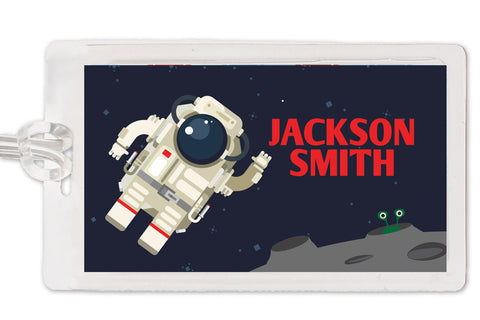 astronaut space bag tag | Swanky Press