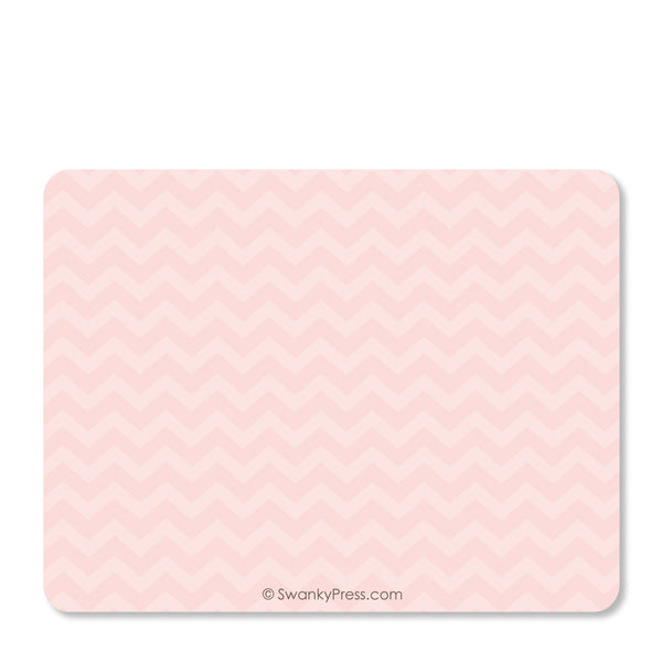 Ballet - Ballerina Flat Notecard | Swanky Press | Back