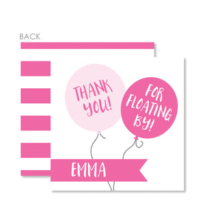 Balloon Party Favor Tag | Swanky Press