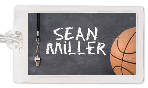 Basketball Bag Tag