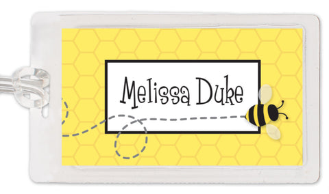 Bee Bag Tag
