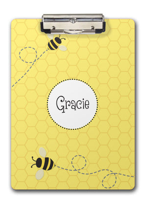Honeycomb Bee Clipboard | Swanky Press
