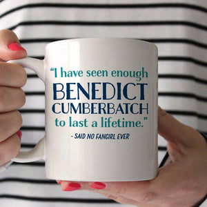 Benedict Cumberbatch Fan Girl Mug | PIPSY.COM