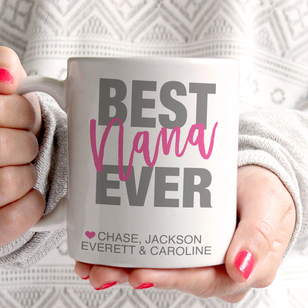 Best Nana Ever Coffee Cup
