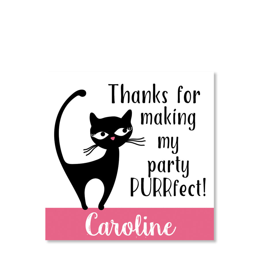 Cat Favor Stickers