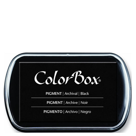 Color Box Pigment Ink Pad (Black) | Swanky Press