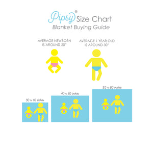 Size Chart Baby Milestone Blanket Buying Guide | Pipsy.com