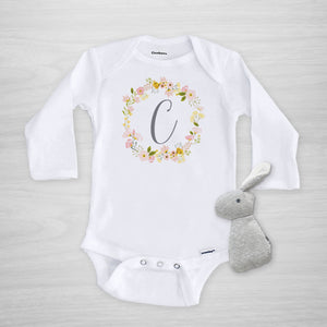 Blossom Wreath Onesie® - Personalized