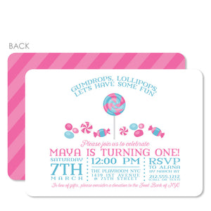 Candy Party Birthday Invitation | PIPSY.COM