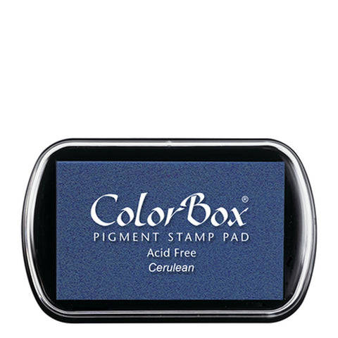 Color Box Pigment Ink Pad (Cerulean) | Swanky Press